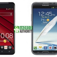 Сравнение Samsung Galaxy Note 2 vs HTC J Butterfly